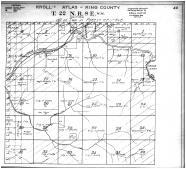 Township 22 N Range 8 E, King County 1912